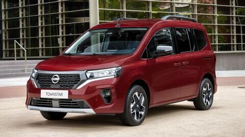 Nissan Townstar, una nueva van compacta de carga o de pasajeros a gasolina o eléctrica