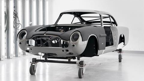 Aston Martin reanuda la producción del DB5 pero con el sello James Bond