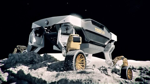TIGER, vehículo no tripulado de movilidad extrema de Hyundai Motor Group