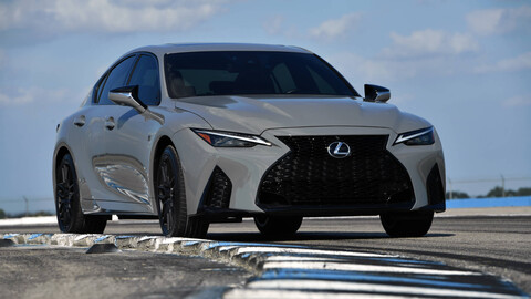 Lexus IS 500 F Sport Performance, un muscle car japonés