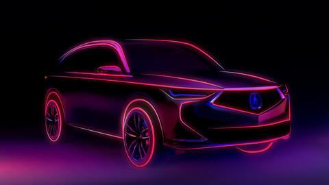 Acura MDX, primeros datos de la nueva SUV de la marca de lujo de Honda