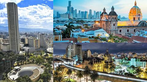 Top 10 - Participación por región de los vehículos más vendidos en Colombia durante octubre