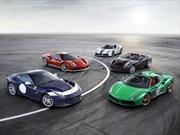 Ferrari celebra su 70 aniversario con 350 autos conmemorativos