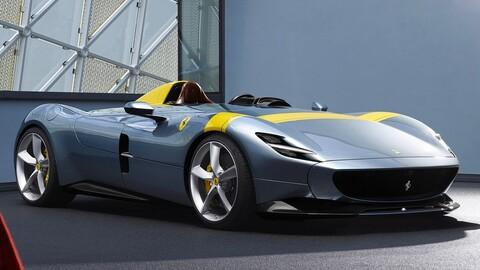 Ferrari Monza SP1 es reconocido por su majestuoso diseño