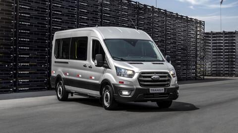 Llega la nueva Ford Transit a la región