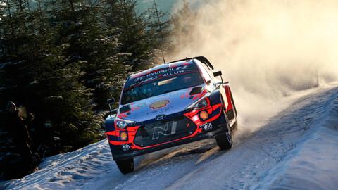 WRC 2021: Hyundai vuelve al triunfo en el Rally del Ártico