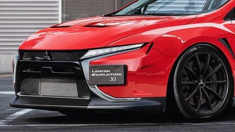Así sería el nuevo Mitsubishi Lancer Evo