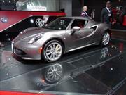 Alfa Romeo regresó a Norteamérica para mostrar el 4C