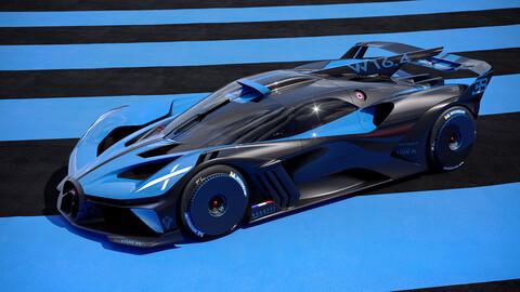 Bugatti Bolide Concept, un exclusivo hiperdeportivo de carreras con el motor del Chiron