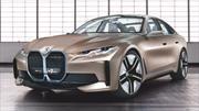 BMW Concept i4 anticipa un sedán eléctrico de alto desempeño
