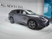 Lexus RX 350L 2018, el nuevo SUV de tres filas de asientos
