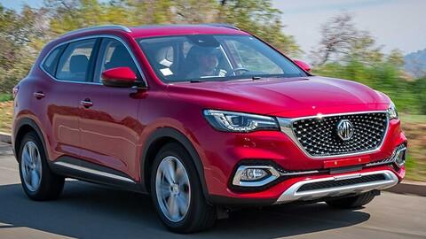 MG HS 2021 llega a México una SUV china, con todos los modales británicos
