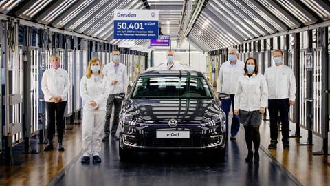 Volkswagen e-Golf deja de producirse
