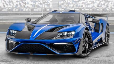 """Ford GT """"Le Mansory"""": una carrocería brutal y más de 700 hp"""