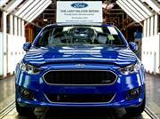 Ford termina producción en Australia