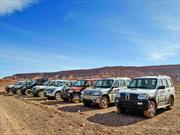 Mahindra Adventure en el norte de Chile
