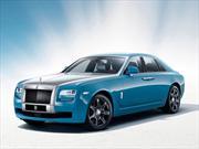 Rolls Royce recuerda sus viejas glorias con el Ghost Alpine Trial Centenary