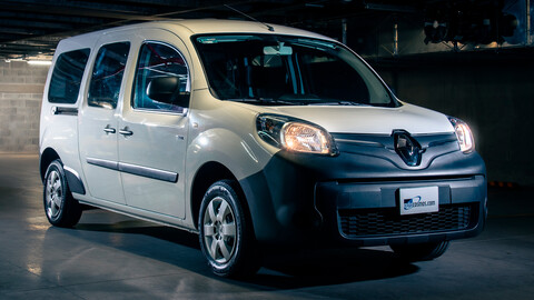 Manejamos la Renault Kangoo Z.E. 2021