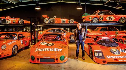 Conoce la colección de autos Porsche con decoración Jägermeister