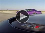 Video: Chevrolet Camaro ZL1 vs Dodge Challenger SRT Hellcat