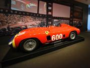 Ferrari 290 MM by Scaglietti 1956 de Juan Manuel Fangio subastado en $28 millones de dólares