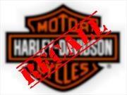Recall de Harley-Davidson a 57,000 motocicletas