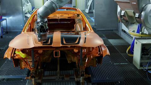 BMW presenta una nueva forma de pintar autos