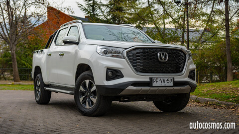 Probamos la Changan Hunter 2020
