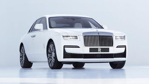 Rolls-Royce Ghost 2021, la nueva generación