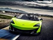 McLaren 600LT Spider, test drive en Arizona