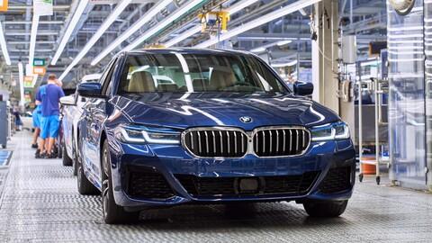 BMW Serie 5 y Serie 4 2021 inician producción en Alemania
