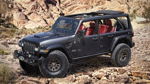 Jeep Wrangler Rubicon 392 Concept deja ver una futura versión con motor V8