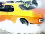 Nuevo Récord Guinness de autos quemando neumáticos