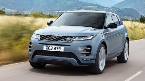La nueva Range Rover Evoque podría llegar a la Argentina desde Brasil