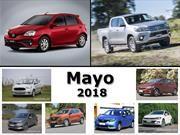 Top 10 los autos más vendidos de Argentina en mayo de 2018