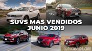Los 10 SUVs más vendidos en junio de 2019