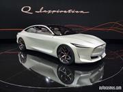 Infiniti Q Inspiration Concept, diseño de alta pureza