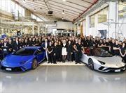 Lamborghini registra récord de ventas del Huracán y Aventador