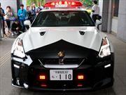 La policía de Japón recibe un Nissan GT-R