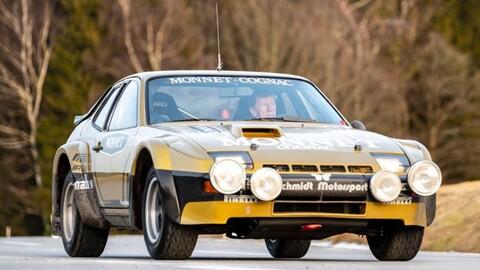 El Porsche 924 Carrera GTS Rally de Walter Röhrl vuelve a la vida