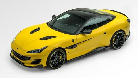 Ferrari Portofino por Mansory: exceso de fibra de carbono y potencia