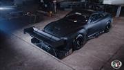 Preparan un Nissan GT-R con alerones gigantes para competir en Sudáfrica