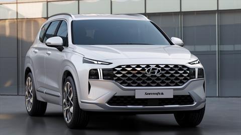Hyundai destapa a la nueva Santa Fe 2021 con fuertes cambios
