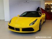 Ferrari 488 GTB 2016 se presenta