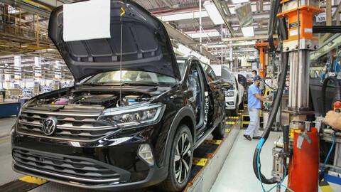 Por falta de microchips, Volkswagen extiende vacaciones en la fábrica del Nivus