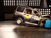 Carros de la India reprueban pruebas de choque