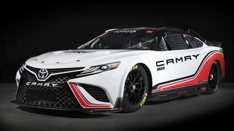 Toyota Camry Next Gen, el nuevo auto de carreras para la NASCAR Cup Series, es idéntico al de calle