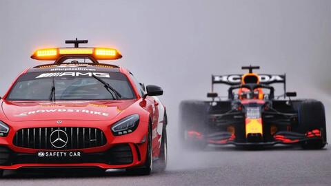 F1 GP de Bélgica 2021 ganó... la lluvia