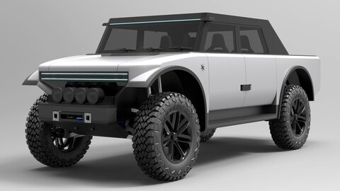 Fering Pioneer, pick-up eléctrica con 7.000 kilómetros de autonomía