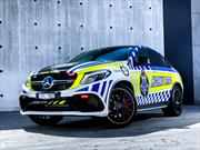 Mercedes-AMG GLE 63 S Coupé es la nueva patrulla de la policía de Australia